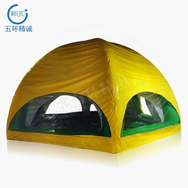 whjc013 户外旅行登山野营帐篷易携带帐篷 防风防雨越野旅游充气帐篷