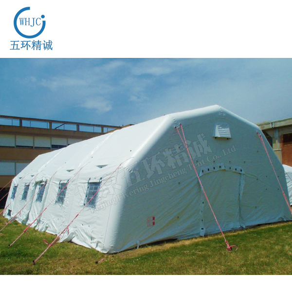 whjc022 Large white inflatable tents